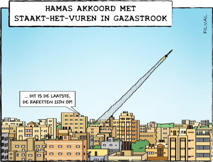 Cartoon Gazastrook