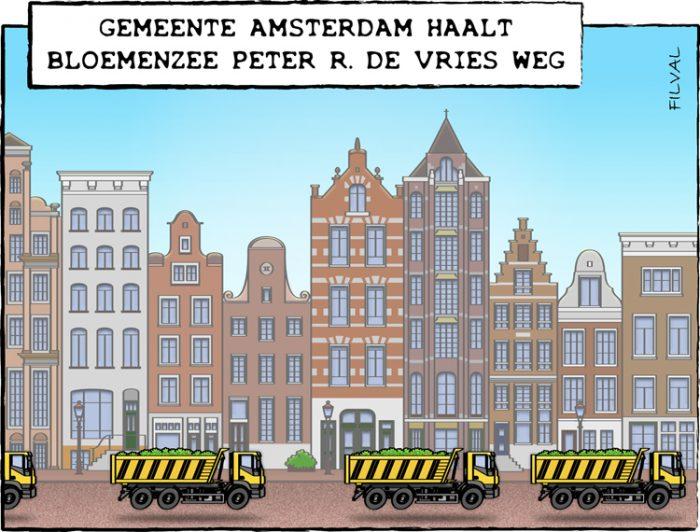 Cartoon Peter R. de Vries